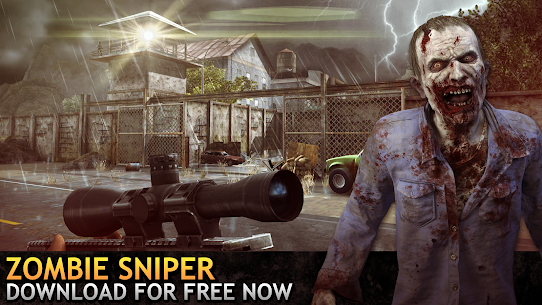 Last Hope Sniper – Zombie War: Shooting Games FPS Mod 1.58 Apk [Unlimited Money] 4