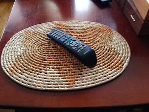 Photo: $2, Wicker Coffee Table mat (remote not included)