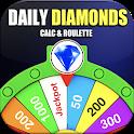 Free Diamonds Spin Wheel & Elite Pass Garena Fire icon