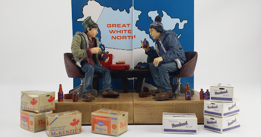 Bob and Doug McKenzie and Sports Action Figures