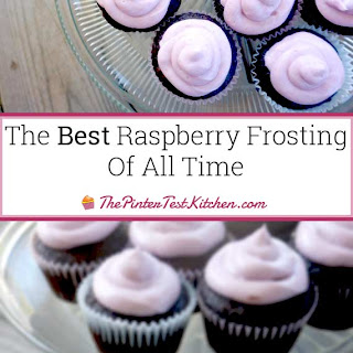 The Best Raspberry Frosting of All Time