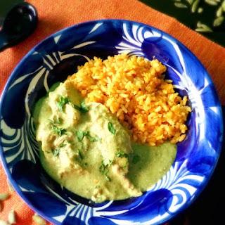 Chicken Pipian Verde.