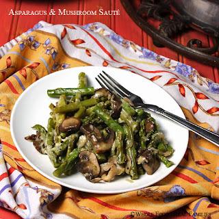 Asparagus & Mushroom Saute