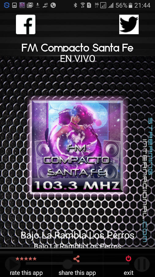 Radio FM Compacto Santa Fe- screenshot