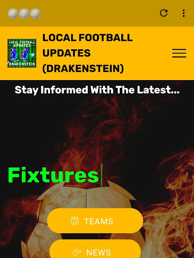 LOCAL FOOTBALL UPDATES (Drakenstein) screenshot 2