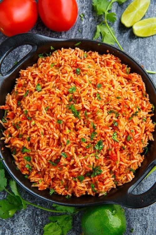 "Mexican Rice ""This rice is so easy to make! It's basically rice..."