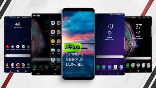 S9 launcher , Samsung Galaxy S9 Icon pack 6 5 APK for Android