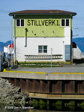 Photo: Interlocking tower at Trondheim station