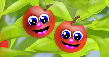 Two Red Apples Smiled At Me