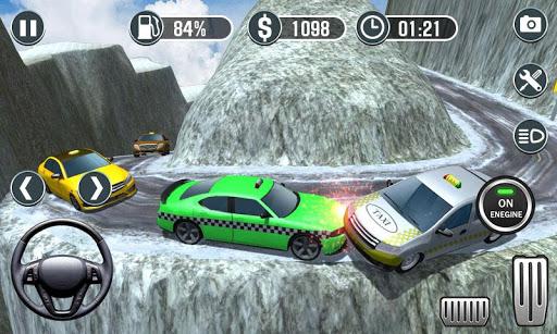 Real Taxi Driver Simulator - Hill Station Sim 3D 1.0 screenshots 1