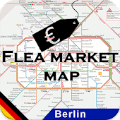 flea market map Berlin