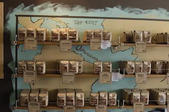 Photo: April 5: Barefoot Coffee display