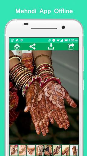 Mehndi App Offline  screenshots 4