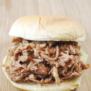 Slow Cooker BBQ Chicken Sandwich