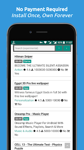 Paid Apps Gone Free - PAGF (Beta) 1.2.5 screenshots 2