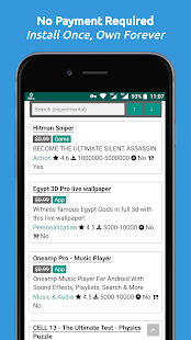 Paid Apps Gone Free - PAGF (Beta) Screenshot