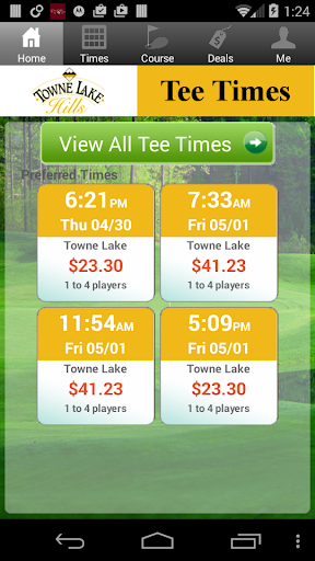 Towne Lake Hills Tee Times|玩運動App免費|玩APPs