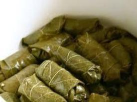 Rolled Stuffed Grape Leaves Recipe