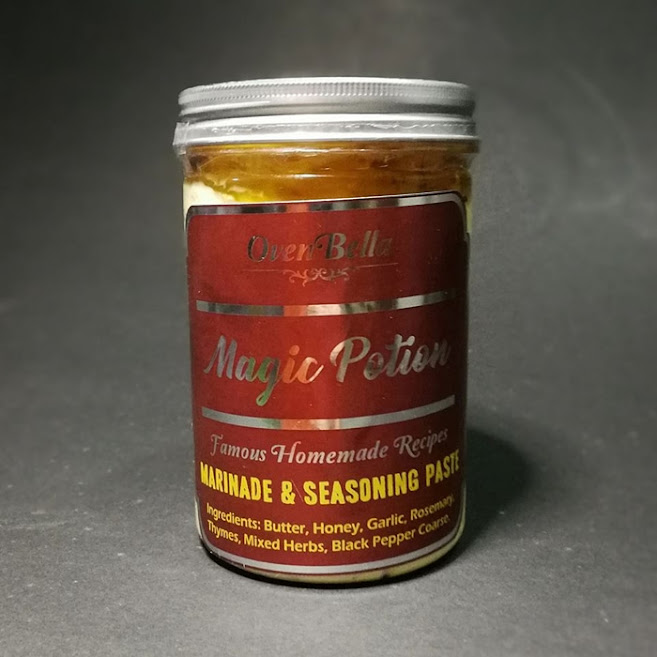 Magic Potion pes marinade dan seasoning