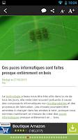 Screenshot of Ubergizmo Actualités high-tech