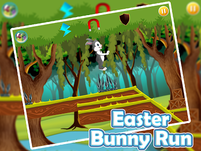 Easter Bunny Jungle Run Screenshot