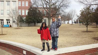 Photo: kaleya and Q at TSU