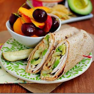Turkey, Avocado & Hummus Wrap.