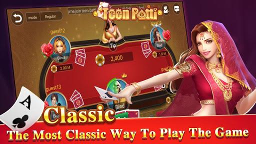 TeenPattiKing - 3 Patti Poker Card Game 1.0.1 screenshots 1