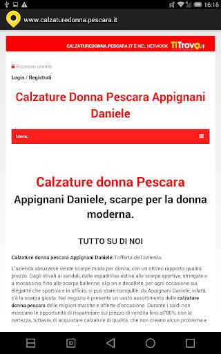 Calzature donna Pescara