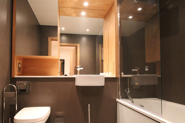 Bathroom at Fusion Court Serviced Apartments, Shoreditch