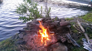 Photo: Bon fire on July 4th.