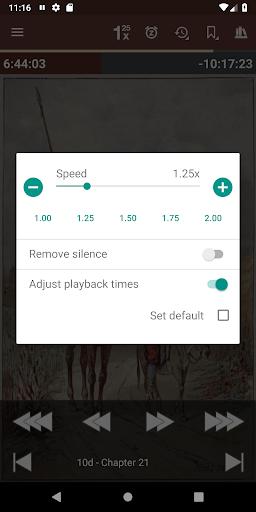 Listen Audiobook Player  screen 2