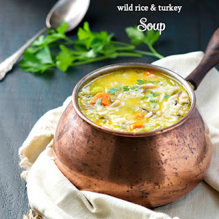 Wild Rice and Leftover Turkey Soup Recipe