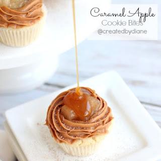 Caramel Apple Cookie Bites