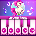 Pink Unicorn Piano - Free Piano Music For All Ages icon