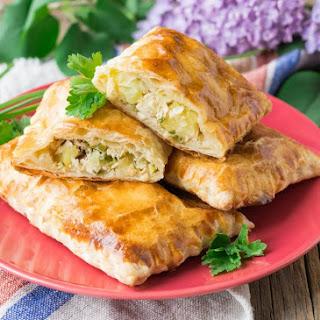Chicken and Potato Turnovers Recipe
