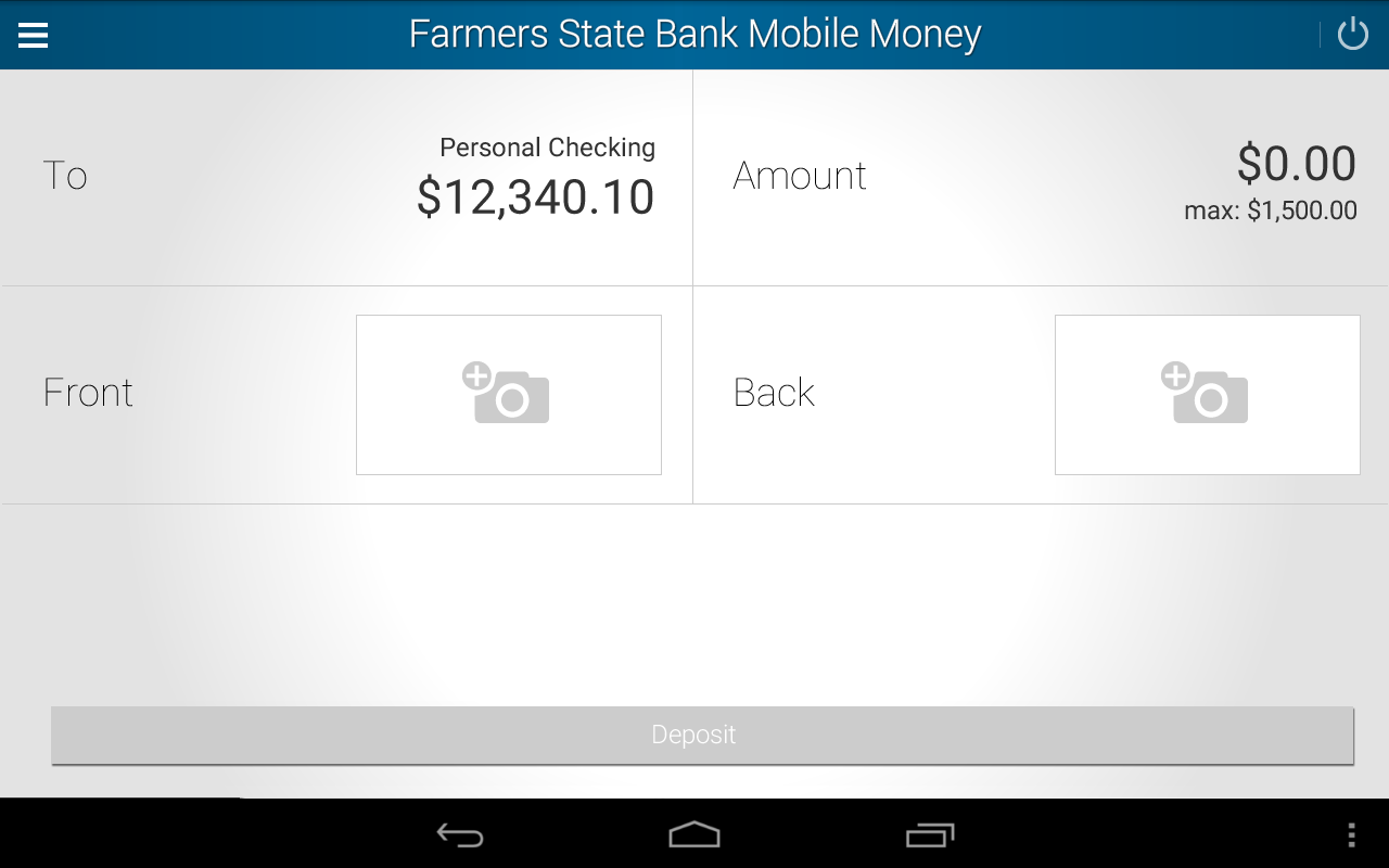 FarmersStateBank Mobile Money- screenshot