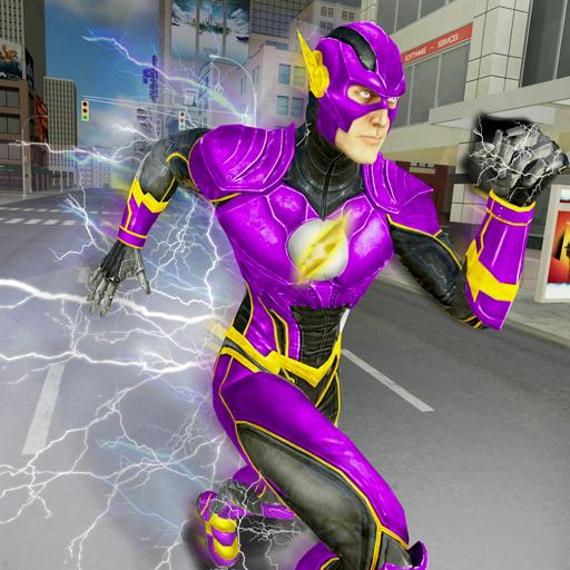 Super Speed Flash Hero Fighter City Rescue Game (game)