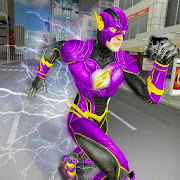 Super Speed Flash Hero Fighter City Rescue Game