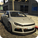 Scirocco Cars Park - Modern Car Park Simulation icon