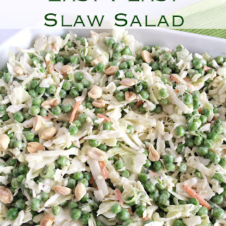 Easy Peasy Slaw Salad