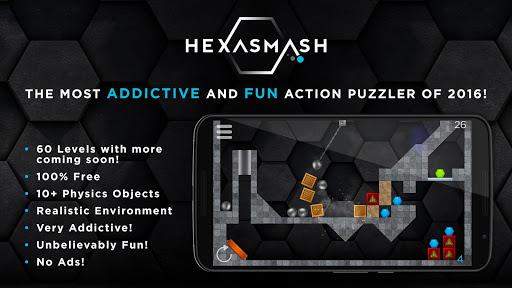Hexasmash ヘキサゴンスマッシュ物理パズル