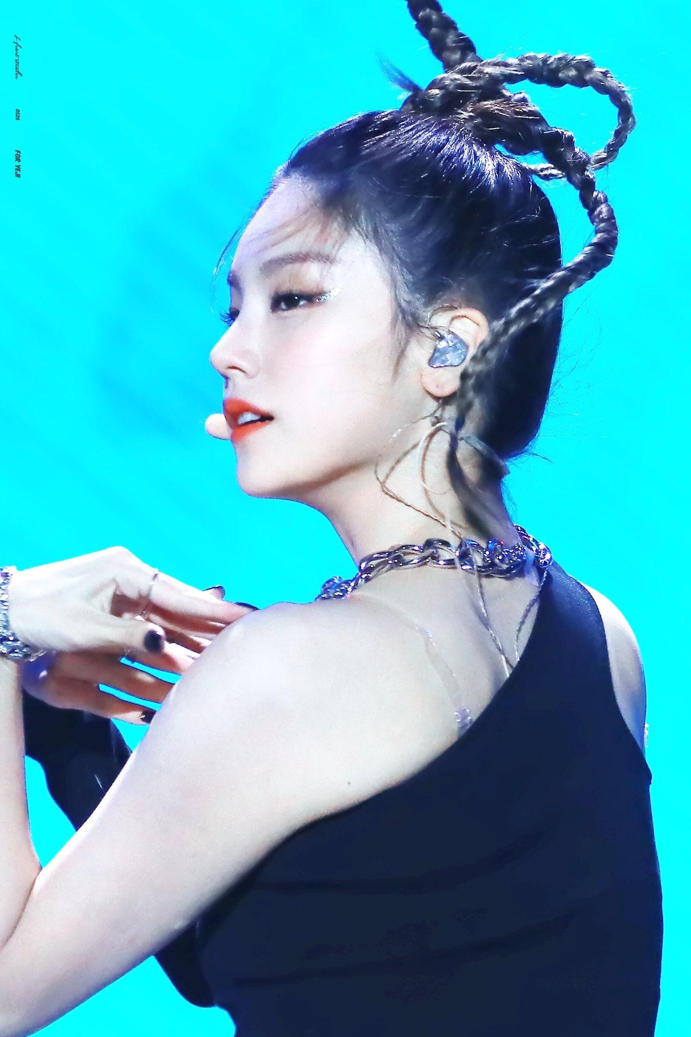 itzy yeji hair7