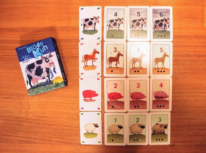 お邪魔もの動物カード:【ボードゲームレビュー】おろかな牛/愚かな牛
