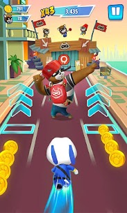 Talking Tom Hero Dash Mod Apk 1.5.1.842 (Unlimited Money + Diamonds) 3