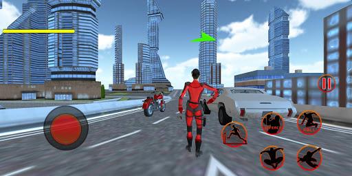 Flying Girl Rope Hero Spider Swing Game 1.3 screenshots 1
