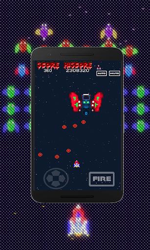 Galaxiga Retro:  Space Shooter screenshots 11