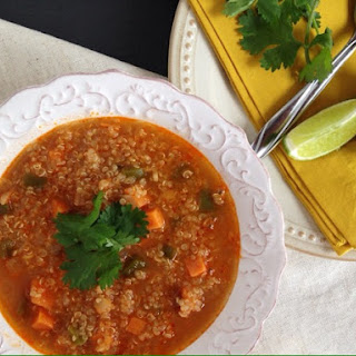 Red Curry Quinoa Soup