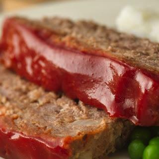Gluten-Free Glazed Meatloaf.