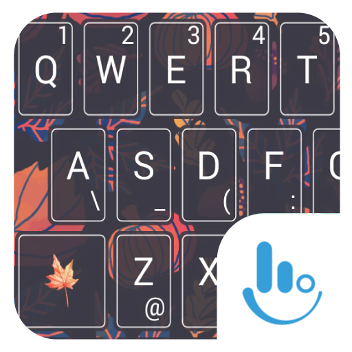 Pumpkin Season Keyboard Theme 個人化 App LOGO-APP開箱王